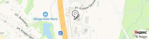 Пельменная №1 на карте Трудового
