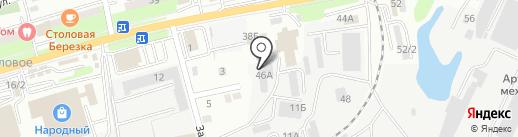 Технодом25 на карте Артёма
