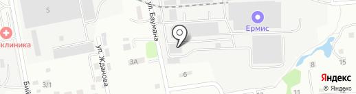 Производственная компания на карте Артёма