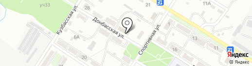 Амурская на карте Артёма