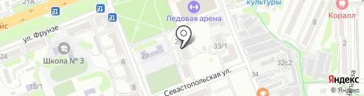 Флагман на карте Артёма