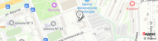 Берёзка на карте Артёма