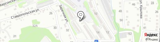 Кирпичики на карте Артёма