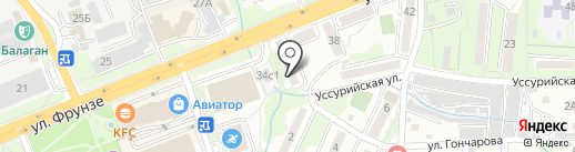 Федерация айкидо Приморского края на карте Артёма
