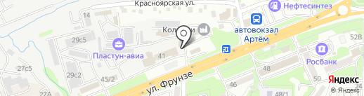 Сервисная компания на карте Артёма