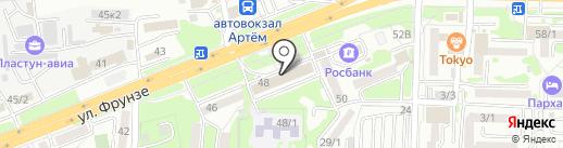 Экспресс Финанс на карте Артёма