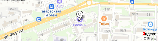 ТРИУМФ на карте Артёма