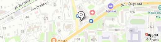 Клякса на карте Артёма