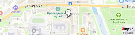 BuyCar на карте Артёма