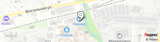 Магазин овощей и фруктов на карте Артёма