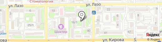 Приморочка на карте Артёма