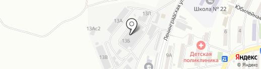 Окна Респект на карте Находки