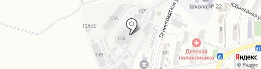 УНИВЕРСАЛ-ПРОФИТ на карте Находки
