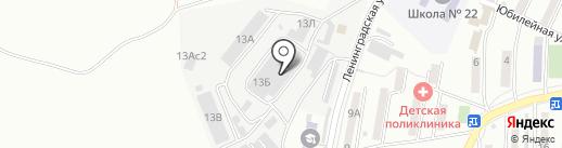 Торгово-сервисная компания на карте Находки