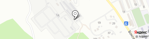 Ночной гараж на карте Находки