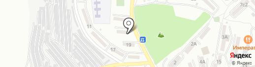 Папиву на карте Находки