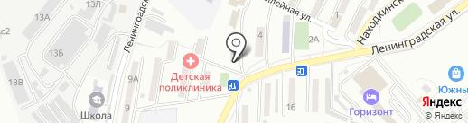 Перспектива на карте Находки