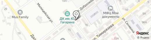 Виона на карте Находки