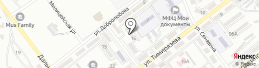 Горжилуправление №6 на карте Находки
