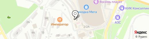 Сундучок на карте Находки