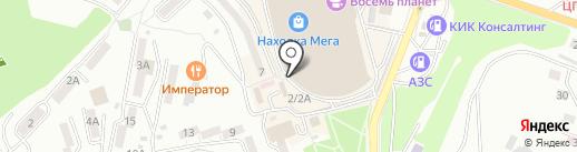 Ника на карте Находки