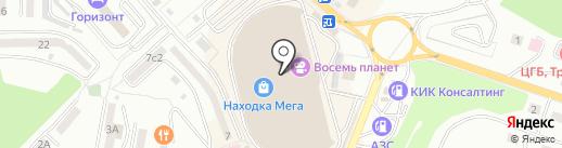 Фишка на карте Находки