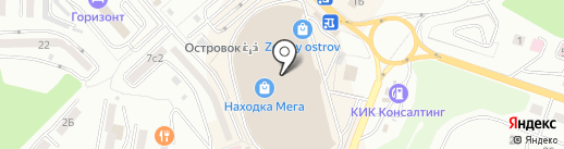 Магазин леденцов и мармелада на карте Находки