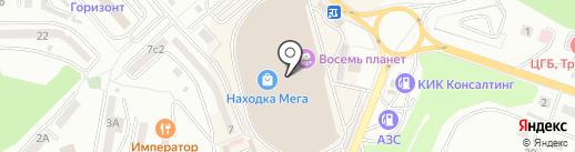 Медовый магазин на карте Находки