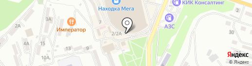 SCARPE на карте Находки