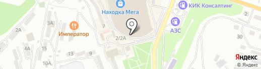 Обувной на карте Находки