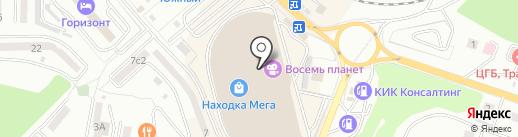 Компас Здоровья на карте Находки