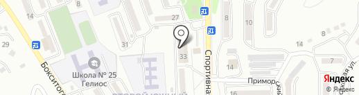 Горжилуправление №3 на карте Находки