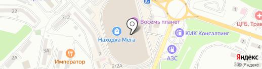 Just на карте Находки