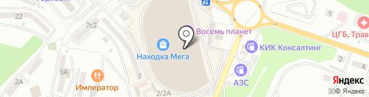 Дива Шарм на карте Находки