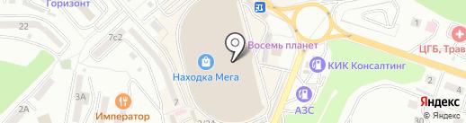 Yota на карте Находки