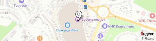 Золотая Русь на карте Находки