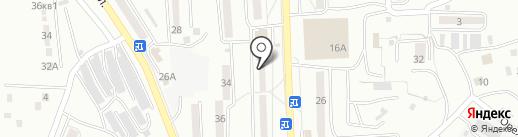 Крокус на карте Находки