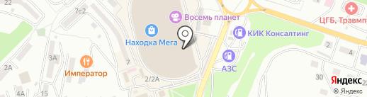 Мега Плюс на карте Находки