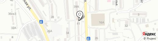 М. Монро на карте Находки