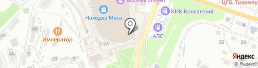 Согдиана на карте Находки