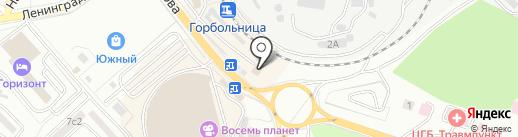 Автоэлектрон на карте Находки