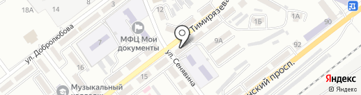 Теско-ДВ на карте Находки
