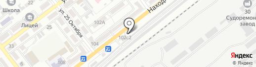 FreeWay Station на карте Находки