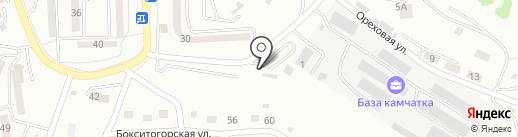 Шиномонтажная мастерская на Спортивной на карте Находки