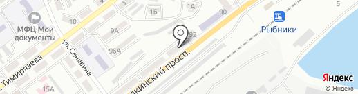 Магазин продуктов на карте Находки