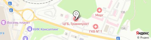 Поликлиника на карте Находки