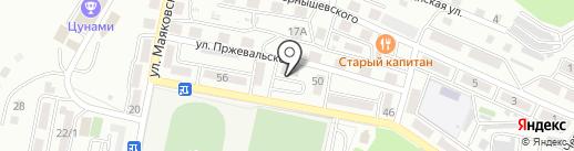 Натали на карте Находки
