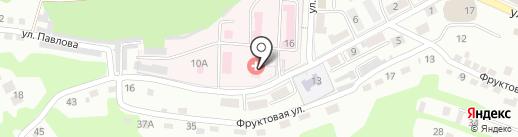 Поликлиника №1 на карте Находки