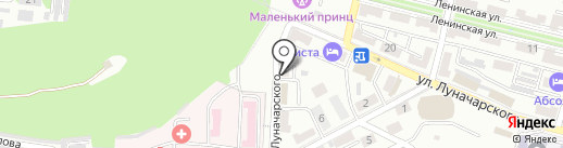 Управление специальной связи по Приморскому краю на карте Находки