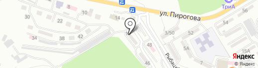 Сабрина на карте Находки